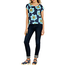 Buy Seasalt Galarie Top, Anemone Night Online at johnlewis.com