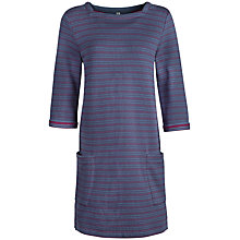 Buy Seasalt Tavor Three-Quarter Sleeve Textured Tunic, Tinten Tide Online at johnlewis.com
