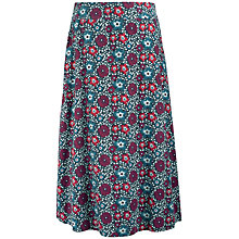 Buy Seasalt White Sands Skirt, Malo Floral Shadow Online at johnlewis.com