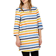 Buy Seasalt Calenick Stripe Tunic Dress, Oak Way Salt Online at johnlewis.com