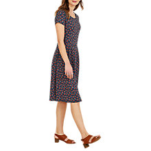 Buy Seasalt Riviera II Dress, Petit Flower Marine Online at johnlewis.com
