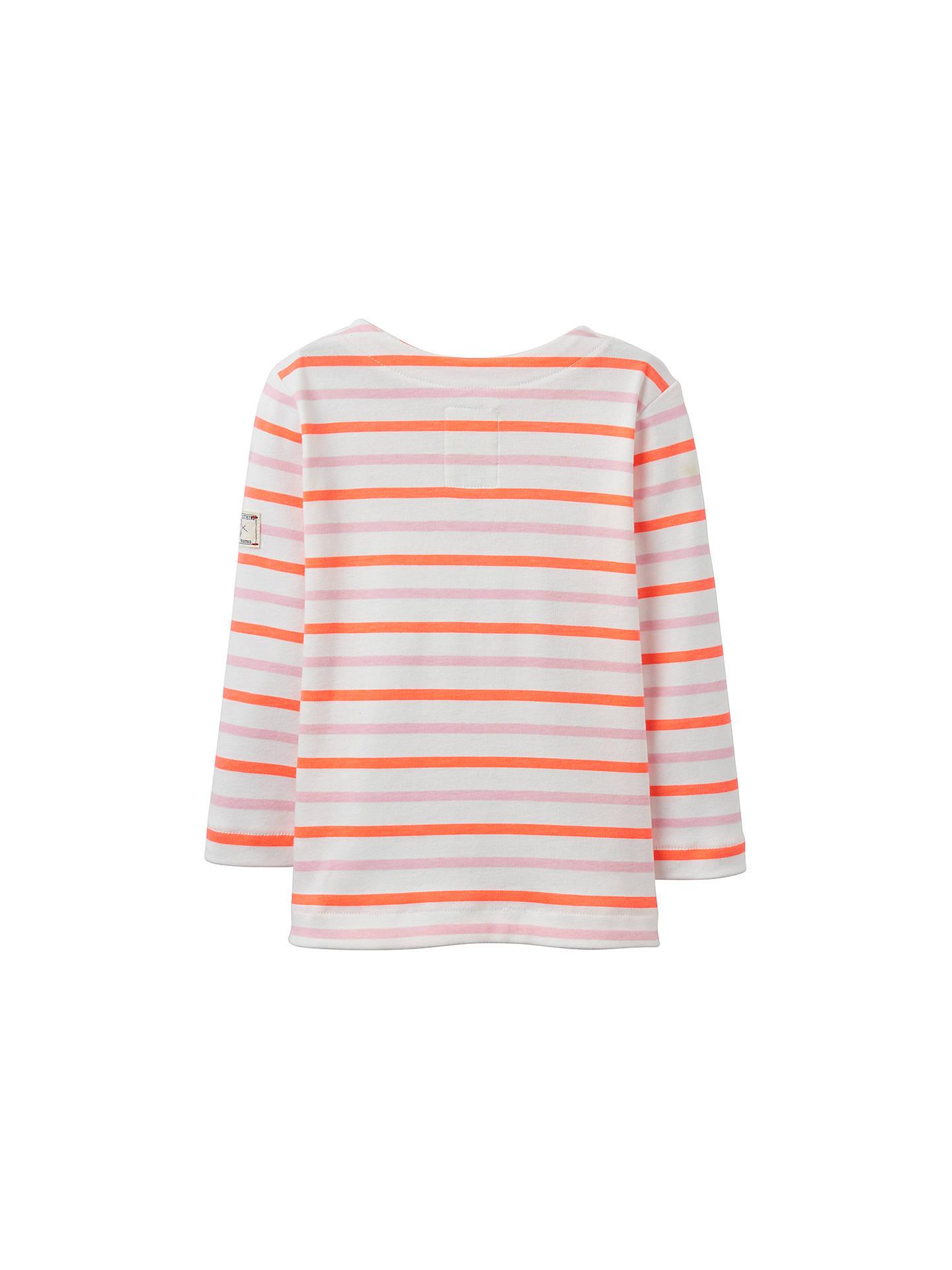 NEW  JOHN LEWIS  LONG SLEEVED  T shirt top ~  PEACH    3-6 MONTHS  COTTON