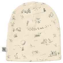 Buy Wheat Disney Baby Organic Winnie The Pooh Beanie Hat, Ivory Online at johnlewis.com