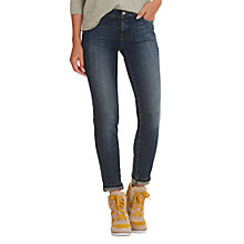 Buy Betty & Co. Easy Fit Five Pocket Jeans, Dark Blue Denim Online at johnlewis.com
