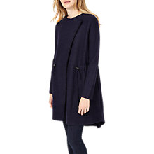 Buy Phase Eight Cherilyn Knitted Parka, Navy Online at johnlewis.com