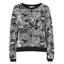 Buy Betty & Co. Tapestry Jumper, Dark Blue/Grey Online at johnlewis.com