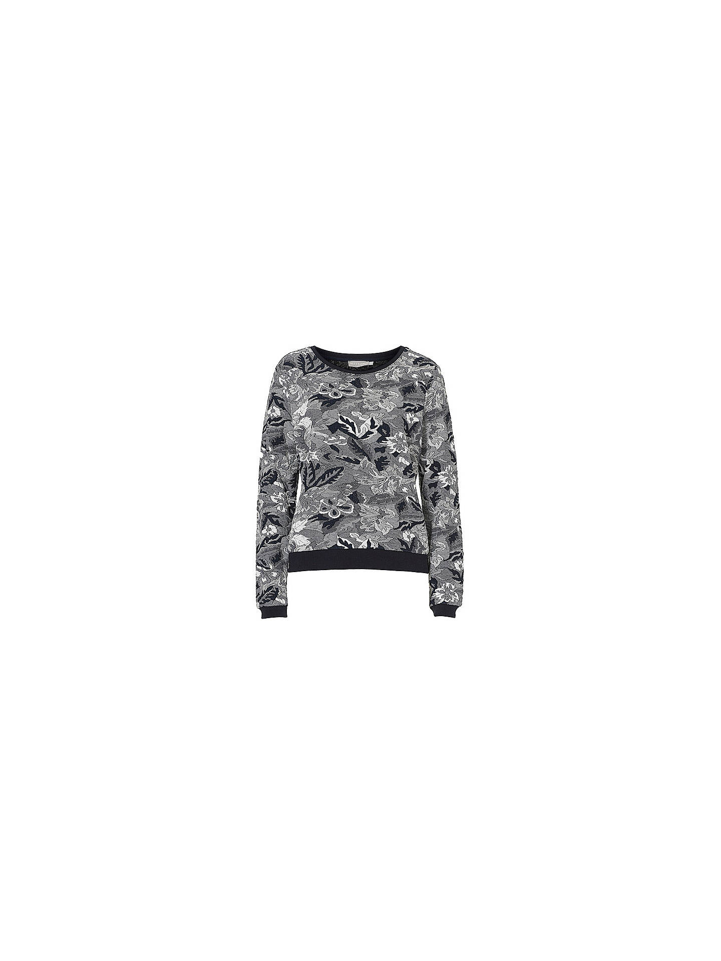 BuyBetty & Co. Tapestry Jumper, Dark Blue/Grey, 10 Online at johnlewis.com