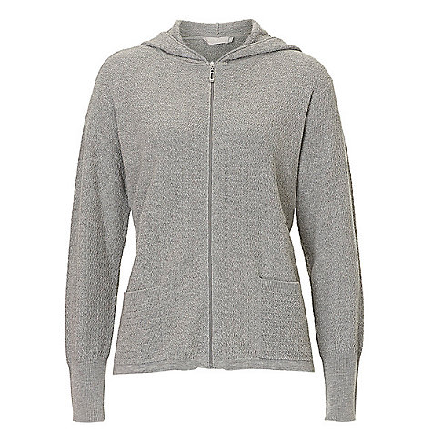 Buy Betty & Co. Textured Hooded Cardigan | John Lewis