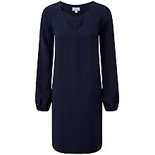 Buy Pure Collection Rihanna Fluid Neck Dress, Midnight Online at johnlewis.com