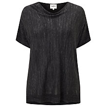 Buy Studio 8 Harriet Knit Top, Graphite Online at johnlewis.com