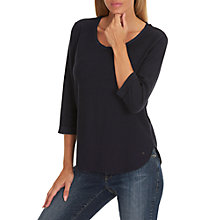 Buy Betty & Co. Fine Textured Top, Dark Sapphire Online at johnlewis.com