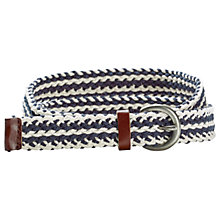 Buy Fat Face Plaited Webbing Belt Online at johnlewis.com