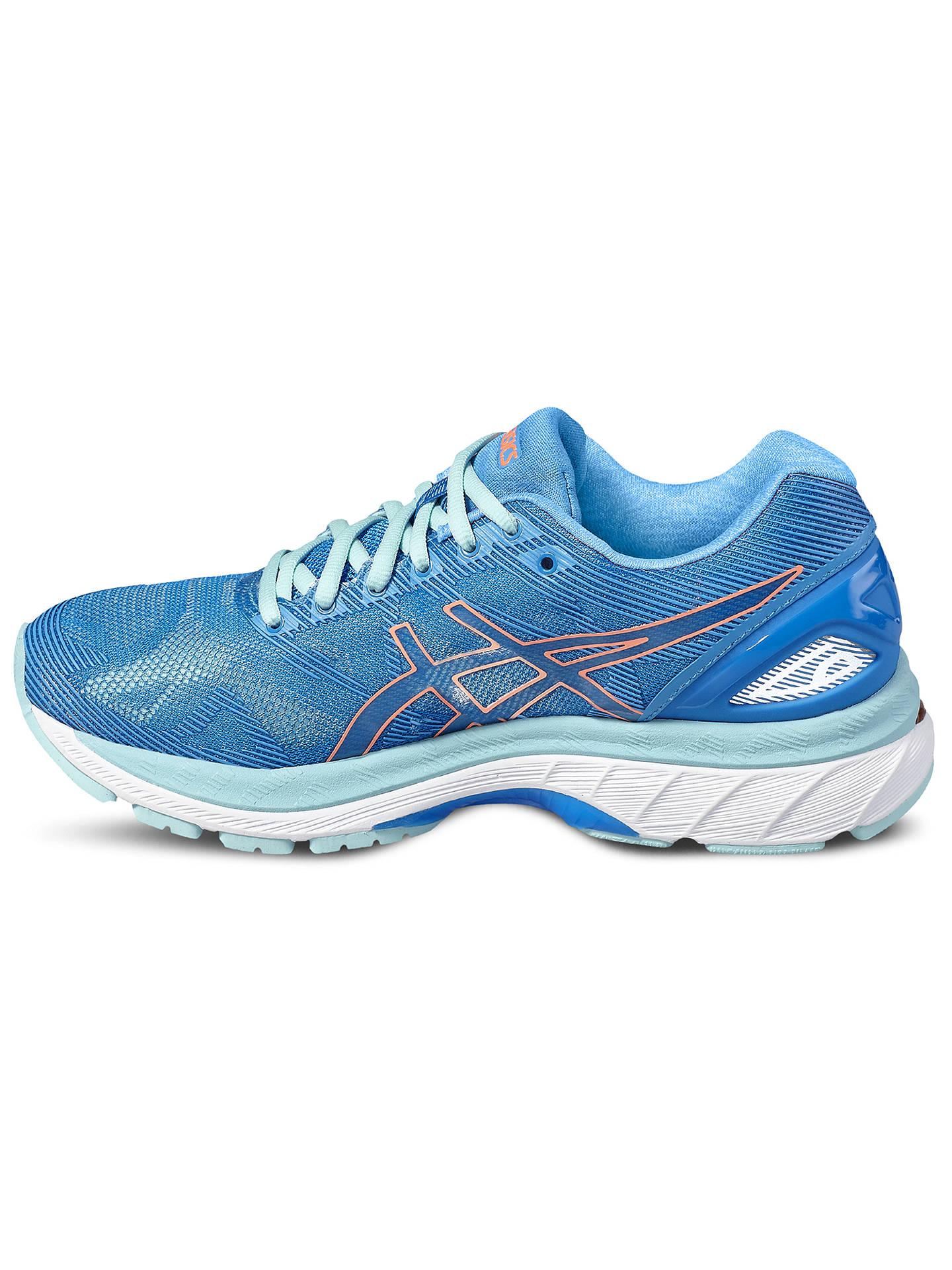 wholesale dealer 7d09c b2c93 Asics Gel-Nimbus 19 Women's Running Shoes, Blue/Pink at John ...