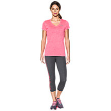 Buy Under Armour Twist Tech Short Sleeve V-Neck T-Shirt Online at johnlewis.com