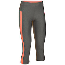 Buy Under Armour CoolSwitch Capris, Grey Online at johnlewis.com