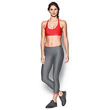 Buy Under Armour Low Sports Bra, Red/Pink Online at johnlewis.com