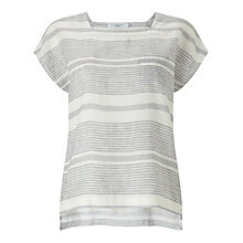 Buy John Lewis Linen Striped Top Online at johnlewis.com