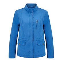 Buy Collection WEEKEND by John Lewis Utility Jacket, Mid Blue Online at johnlewis.com