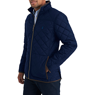 Product photo of Joules retreat jacket quilted jacket navy