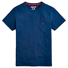 Buy Joules Plain Sea T-Shirt, Sea Blue Online at johnlewis.com