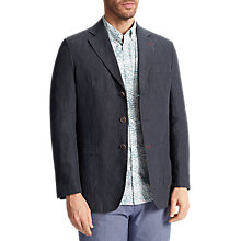Buy John Lewis Linen Blazer, Navy Online at johnlewis.com