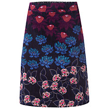 Buy White Stuff Azalea Print Velvet Skirt, Multi Online at johnlewis.com