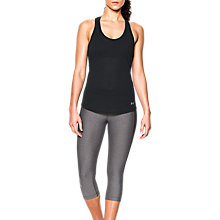 Buy Under Armour Threadborne Streaker Running Tank Top, Black Online at johnlewis.com