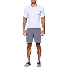 Buy Under Armour SuperVent Armour Short Sleeve Shirt, White Online at johnlewis.com