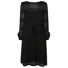 Buy L.K. Bennett Ditas Coupe Dress, Black Online at johnlewis.com