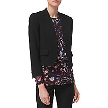 Buy L.K. Bennett Pru Satin Back Jacket Online at johnlewis.com