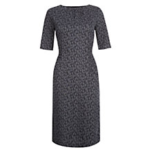 Buy Hobbs Claudia Dress, Grey/Multi Online at johnlewis.com