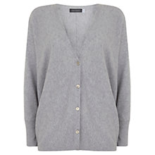Buy Mint Velvet Cropped Cocoon Cardigan, Grey Online at johnlewis.com