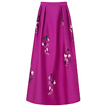 Buy L.K. Bennett Delisa Full Midi Skirt Online at johnlewis.com
