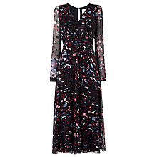 Buy L.K. Bennett Ally Midi Dress, Multi Online at johnlewis.com