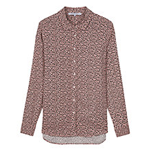 Buy Gerard Darel Sophia Print Shirt, Rose/Multi Online at johnlewis.com
