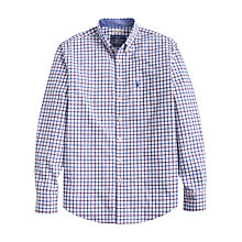 Buy Joules Hensley Check Slim Fit Poplin Shirt, Multi Online at johnlewis.com