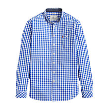 Buy Joules Hewney Gingham Classic Fit Shirt, Bold Blue Online at johnlewis.com