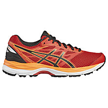 Buy Asics Children's Gel-Cumulus 18 GS Running Shoes, Red/Multi Online at johnlewis.com