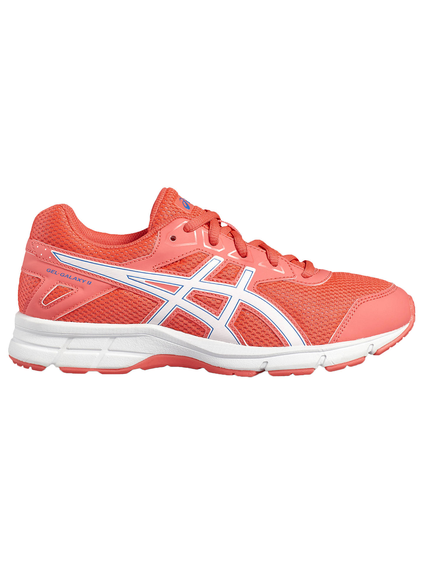 8ba5309117cc9 Buy Asics Children's Gel-Galaxy 9 GS Cushioned Laced Trainers, Pink/White,  ...