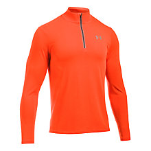 Buy Under Armour Streaker Long Sleeve Running T-Shirt, Red Online at johnlewis.com