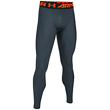 Buy Under Armour HeatGear Armour 2.0 Compression Leggings, Grey Online at johnlewis.com