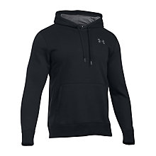Buy Under Armour Storm Rival Cotton Hoodie, Black Online at johnlewis.com