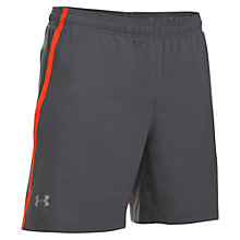 Buy Under Armour Launch 2-in-1 Running Shorts, Grey Online at johnlewis.com