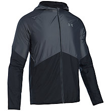 Buy Under Armour Storm NoBreaks Run Jacket, Black Online at johnlewis.com