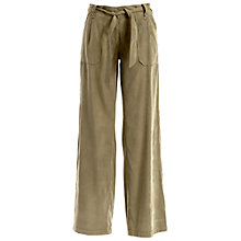 Buy Max Studio Wide Leg Trousers, Olive Online at johnlewis.com