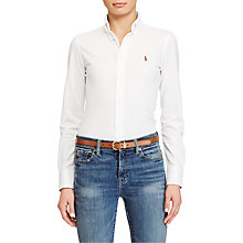 Buy Polo Ralph Lauren Heidi Stretch Shirt Online at johnlewis.com
