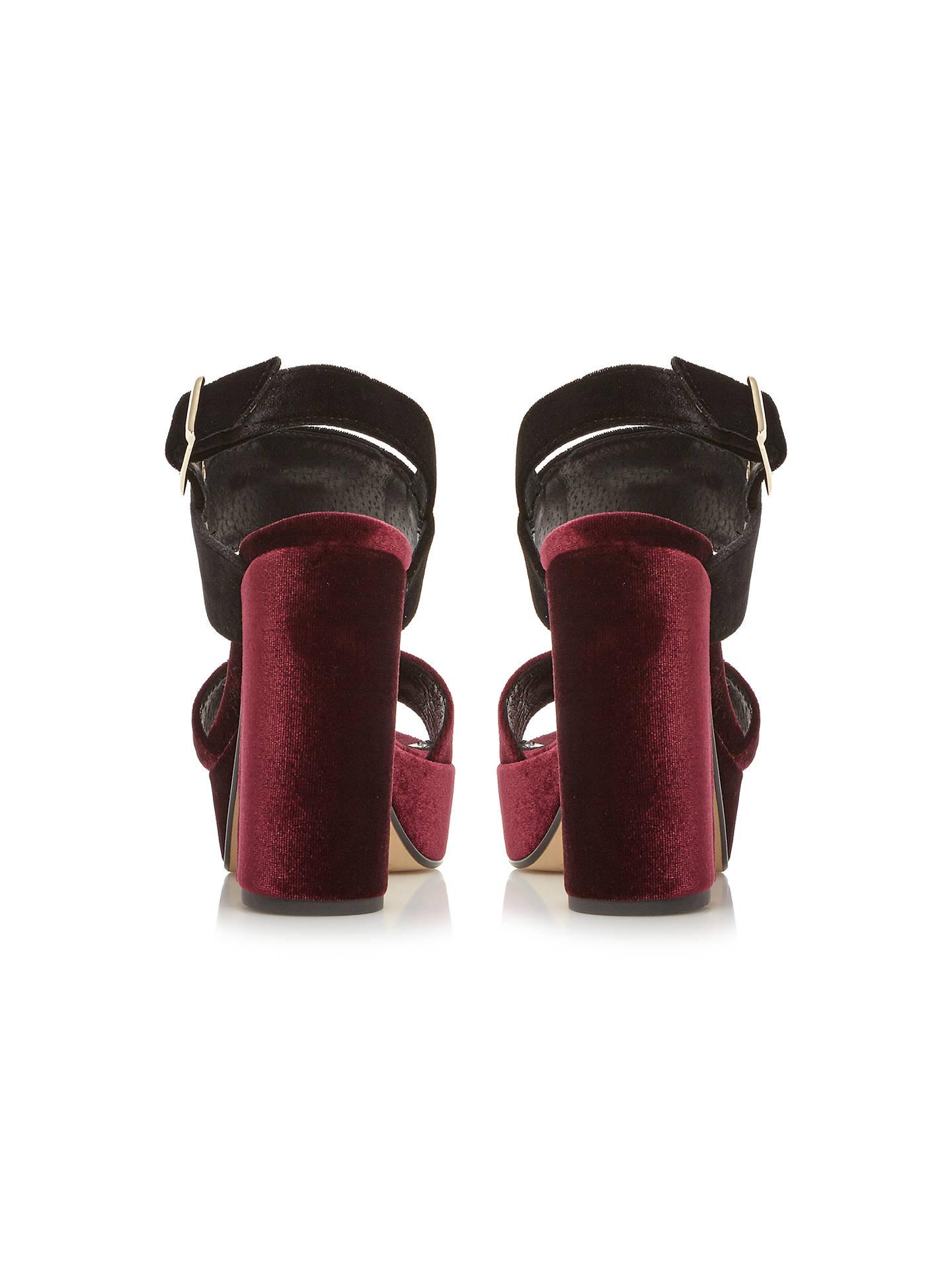 acd40af22ea Dune Mckenna Occasion Platform Block Heeled Sandals at John Lewis ...