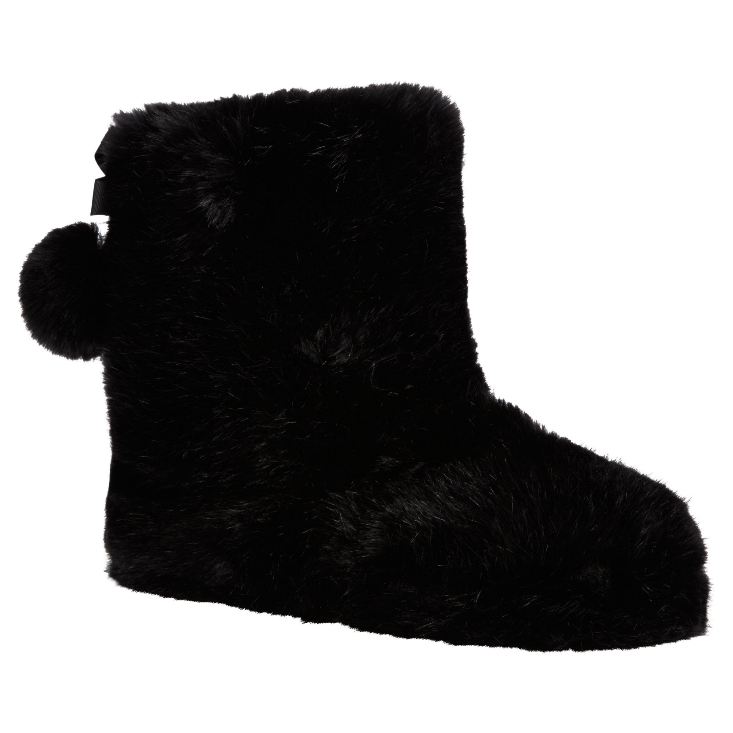 92e180ec9 Ted Baker Hamond Boot Slippers, Black at John Lewis & Partners
