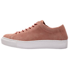 Buy Selected Femme Donna Flat Lace Up Trainers Online at johnlewis.com