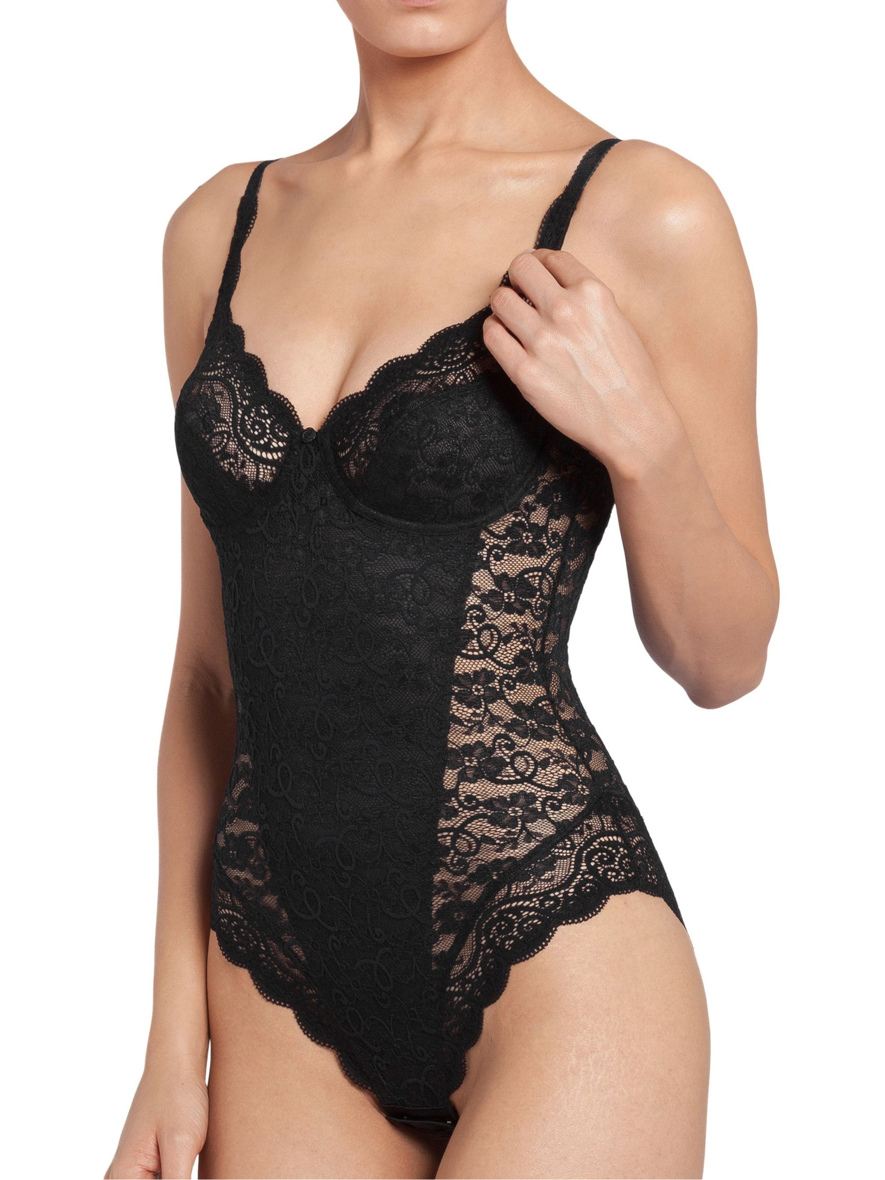 Triumph Triumph Amourette 300 Lace Body, Black